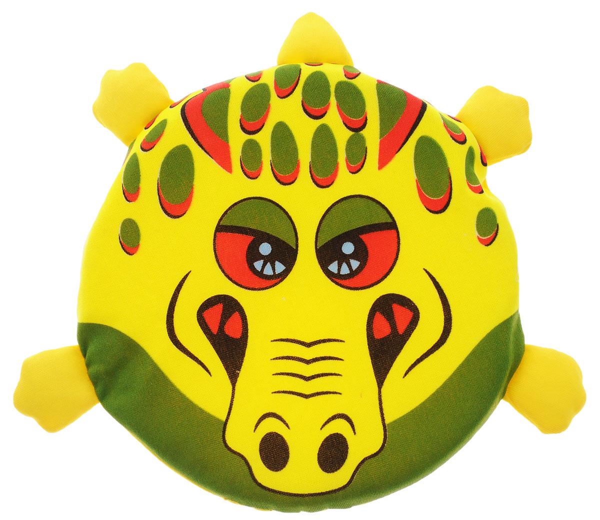 YG Sport Летающий диск Веселые животные КрокодилYG08QЛетающий диск YG Sport Веселые животные. Крокодил, выполненный из мягкого материала, предназначен для игры на свежем воздухе. Он поможет вам и вашему ребенку весело и с пользой для здоровья провести время. Летающий диск способен поднять настроение всем! Каждый ребенок будет рад такому яркому и спортивному подарку.