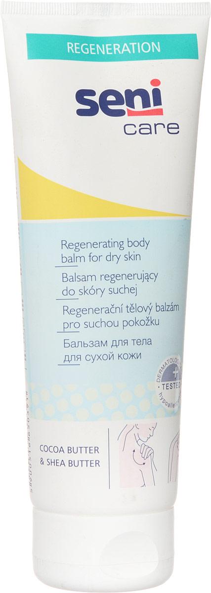 Seni Care Бальзам для тела, для сухой кожи, 250 млSE-231-T250-211Бальзам для тела Seni Care оказывает на кожу успокаивающее действие, уменьшает шероховатость, устраняет чрезмерное шелушение и оказывает регенерирующее действие. Кожа становится более мягкой и эластичной, имеет приятный запах. Способ применения: нанести легкими массирующими движениями на предварительно очищенную кожу.