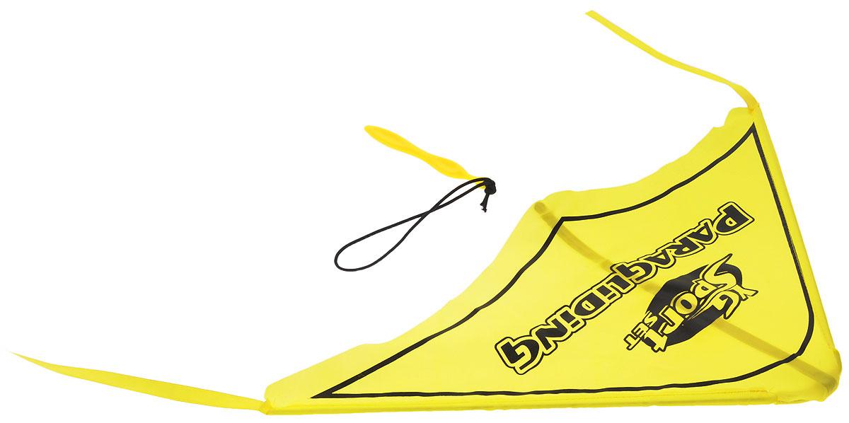 YG Sport Игровой набор Планер цвет желтыйYG08YИгровой набор YG Sport Планер - это замечательная игрушка для активных ребят. Набор изготовлен из прочного пластика, имеет очень простую конструкцию, внешне и по принципу работы напоминает воздушного змея. В набор включено пусковое устройство, благодаря которому планер запускается в полет, словно из рогатки. Также к нему цепляется фигурка храброго пилота, выполненная из пластика. Игрушка легкая, компактно складывается для простоты переноски, что очень важно для детишек, которые не сидят на месте ни минуты.