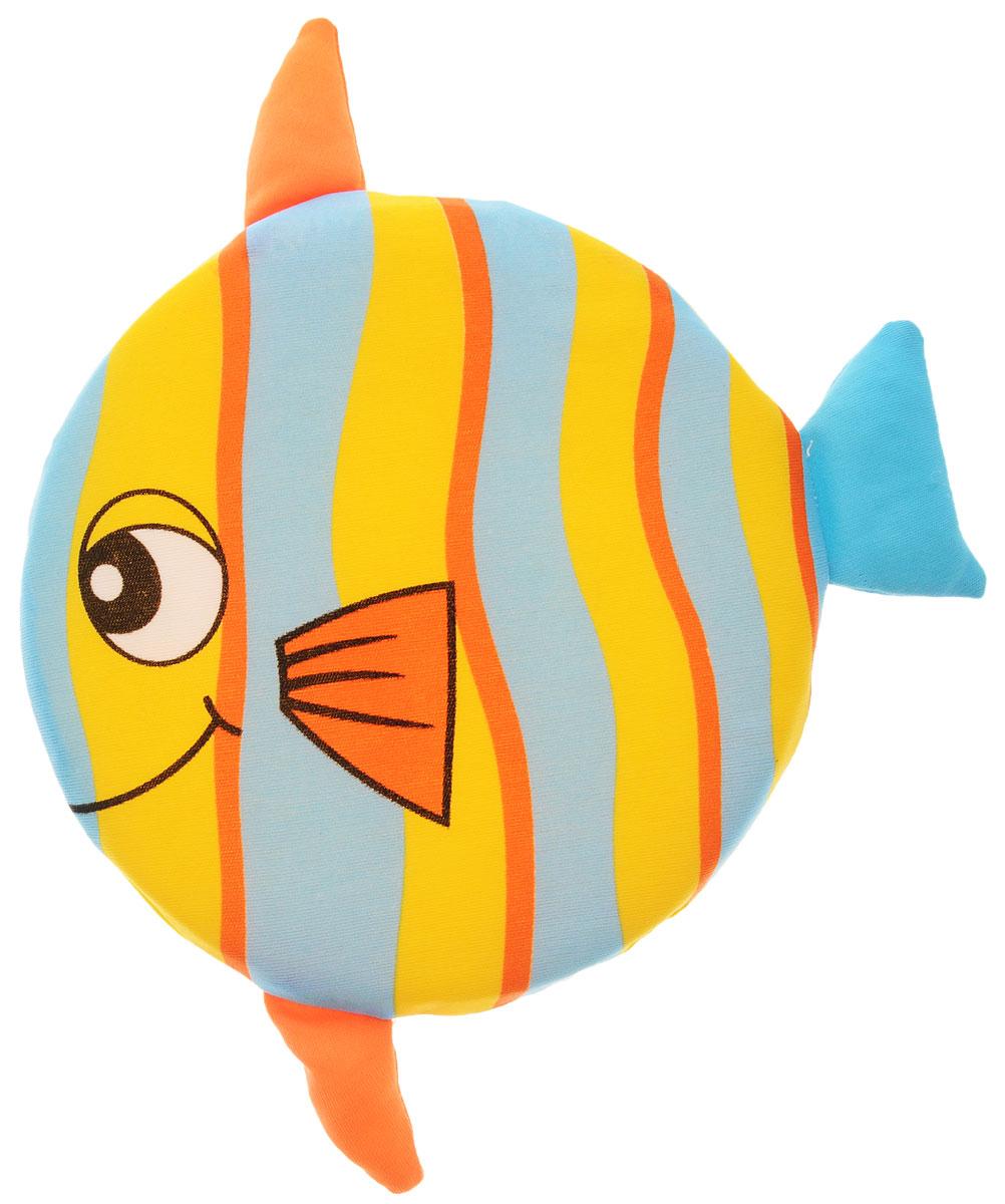 YG Sport Летающий диск Веселые животные Рыбка цвет желтый голубой оранжевыйYG08QЛетающий диск YG Sport Веселые животные. Рыбка, выполненный из мягкого материала, предназначен для игры на свежем воздухе. Он поможет вам и вашему ребенку весело и с пользой для здоровья провести время. Летающий диск способен поднять настроение всем! Каждый ребенок будет рад такому яркому и спортивному подарку.