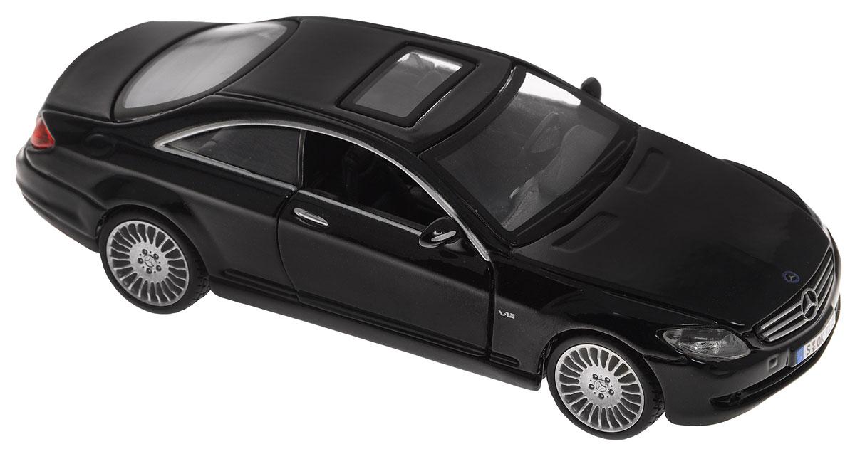 Bburago Модель автомобиля Mercedes-Benz CL 550 цвет черный18-43000_черныйМодель автомобиля Bburago Mercedes-Benz CL 550 будет отличным подарком как ребенку, так и взрослому коллекционеру. Благодаря броской внешности, а также великолепной точности, с которой создатели этой модели масштабом 1:32 передали внешний вид настоящего автомобиля, модель станет подлинным украшением любой коллекции авто. Машина будет долго служить своему владельцу благодаря металлическому корпусу с элементами из пластика. Дверцы машины открываются, шины обеспечивают отличное сцепление с любой поверхностью пола. Модель автомобиля Bburago Mercedes-Benz CL 550 обязательно понравится вашему ребенку и станет достойным экспонатом любой коллекции.