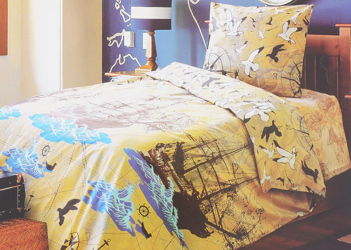 Комплект белья Блакiт Neverland, евро, наволочки 70х70, цвет: бежевый, коричневый, голубой36024411Комплект постельного белья Блакiт Neverland является экологически безопасным для всей семьи, так как выполнен из бязи (100% хлопок). Комплект состоит из пододеяльника, простыни и двух наволочек. Постельное белье оформлено оригинальным рисунком и имеет изысканный внешний вид. Бязь - это ткань полотняного переплетения, изготовленная из экологически чистого и натурального 100% хлопка. Она прочная, мягкая, обладает низкой сминаемостью, легко стирается и хорошо гладится. Бязь прекрасно пропускает воздух и за ней легко ухаживать. При соблюдении рекомендуемых условий стирки, сушки и глажения ткань имеет усадку по ГОСТу, сохранятся яркость текстильных рисунков. Приобретая комплект постельного белья Блакiт Neverland, вы можете быть уверенны в том, что покупка доставит вам и вашим близким удовольствие и подарит максимальный комфорт.
