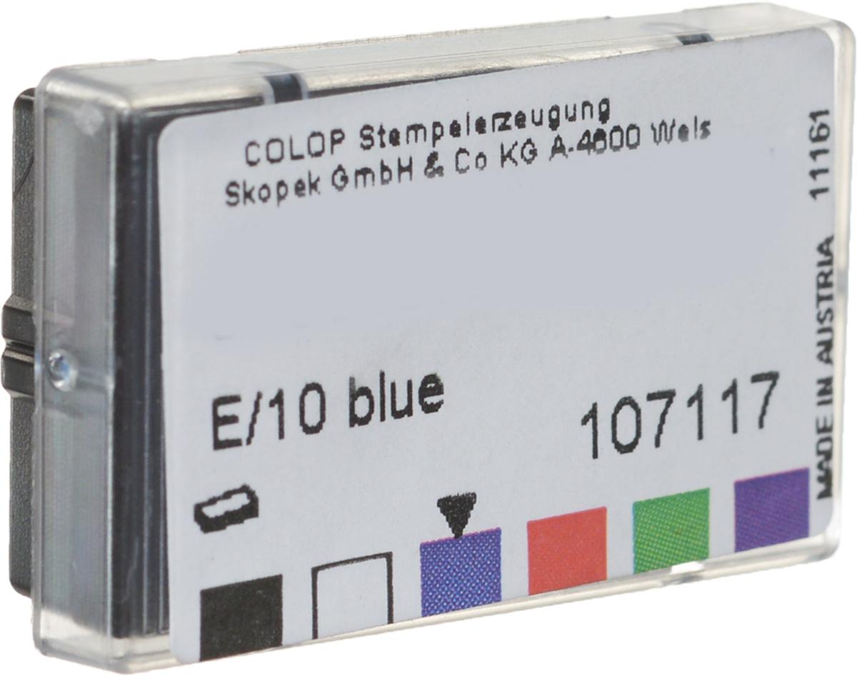 Colop Сменная штемпельная подушка E/10 цвет синий