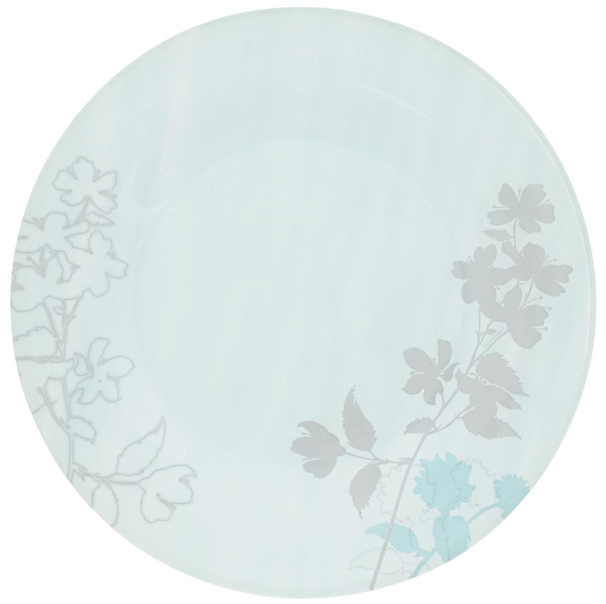 Тарелка десертная Luminarc Cayla Blue, диаметр 19,5 смJ8834Десертная тарелка Luminarc Cayla Blue, изготовленная из ударопрочного стекла, имеет изысканный внешний вид. Такая тарелка прекрасно подходит как для торжественных случаев, так и для повседневного использования. Идеальна для подачи десертов, пирожных, тортов и многого другого. Она прекрасно оформит стол и станет отличным дополнением к вашей коллекции кухонной посуды. Диаметр тарелки (по верхнему краю): 19,5 см.