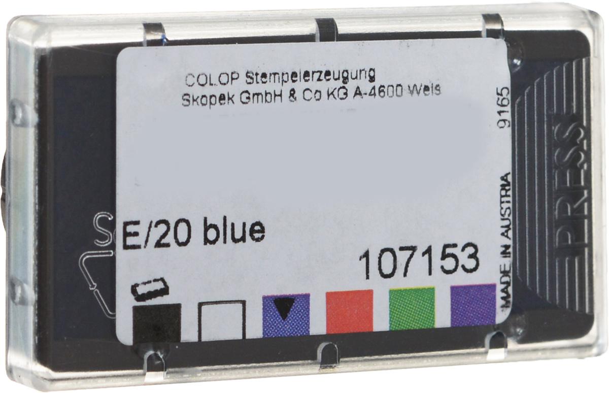Colop Сменная штемпельная подушка E/20 №2 цвет синий ( E/20c )