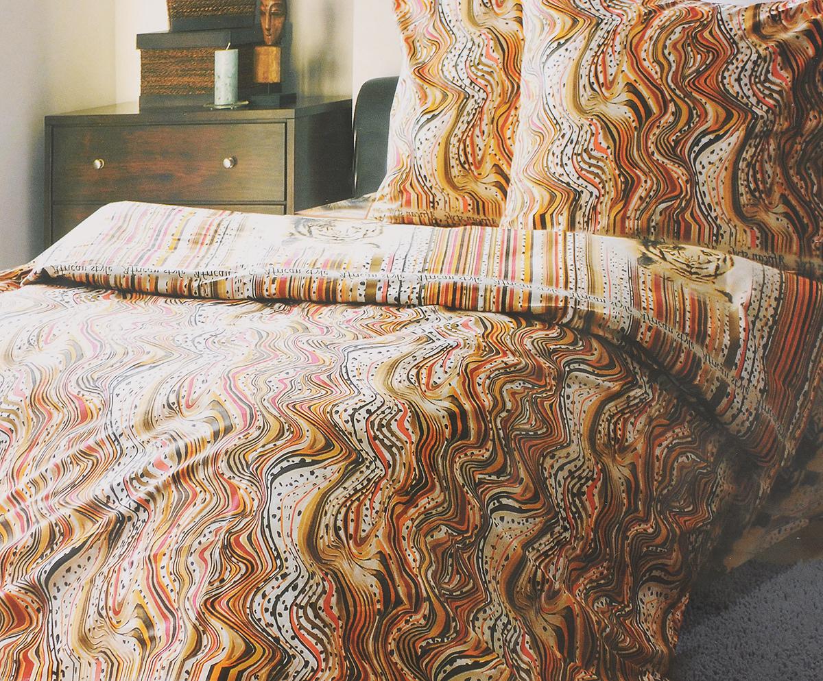 Комплект белья Катюша Африканский стиль, евро, наволочки 70х70, цвет: светло-коричневый, оранжевый, белыйC-263/4331Комплект постельного белья Катюша Африканский стиль является экологически безопасным для всей семьи, так как выполнен из бязи (100% хлопок). Комплект состоит из пододеяльника, простыни и двух наволочек. Постельное белье оформлено оригинальным рисунком и имеет изысканный внешний вид. Бязь - это ткань полотняного переплетения, изготовленная из экологически чистого и натурального 100% хлопка. Она прочная, мягкая, обладает низкой сминаемостью, легко стирается и хорошо гладится. Бязь прекрасно пропускает воздух и за ней легко ухаживать. При соблюдении рекомендуемых условий стирки, сушки и глажения ткань имеет усадку по ГОСТу, сохранятся яркость текстильных рисунков. Приобретая комплект постельного белья Катюша Африканский стиль, вы можете быть уверенны в том, что покупка доставит вам и вашим близким удовольствие и подарит максимальный комфорт.