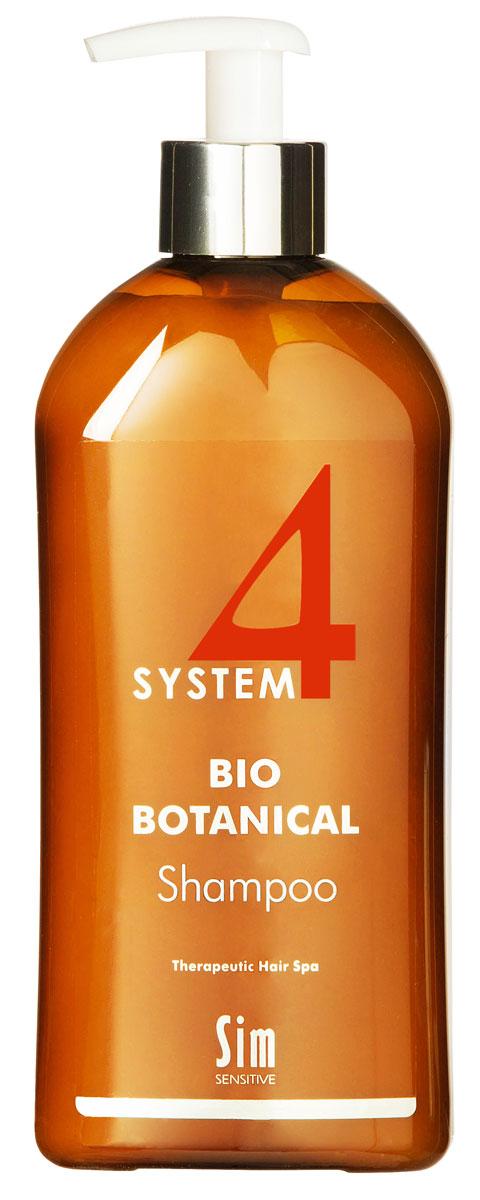 SIM SENSITIVE Био Ботанический Шампунь SYSTEM 4 Bio Botanical Shampoo, 500 мл5325