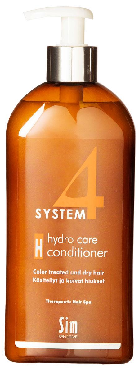SIM SENSITIVE Терапевтический бальзам H SYSTEM 4 Hydro care Conditioner «Н» , 500 мл5315КАК РАБОТАЕТ: комплекс пшеничных и растительных протеинов питает волосы и насыщает влагой сухие и поврежденные волосы. Климбазол и пироктон оламин усиливают и подкрепляют действие терапевтических шампуней «Систем 4». Бальзам улучшает структуру волоса, придает послушность и шелковистость. БОРЕТСЯ С: сухостью волос, непослушностью, спутыванием волос расслоением стержня волоса поврежденностью и стрессом волос после окрашивания, химической обработки, частого воздействия горячих температур (фен, утюжки)