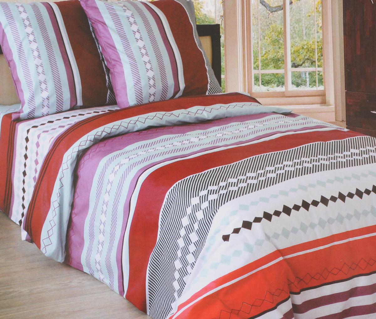 Комплект белья Катюша Каберне, 1,5-спальный, наволочки 50х70, цвет: лиловый, бордовый, белыйC-264/3944Комплект постельного белья Катюша Каберне является экологически безопасным для всей семьи, так как выполнен из бязи (100% хлопок). Комплект состоит из пододеяльника, простыни и двух наволочек. Постельное белье оформлено оригинальным рисунком и имеет изысканный внешний вид. Бязь - это ткань полотняного переплетения, изготовленная из экологически чистого и натурального 100% хлопка. Она прочная, мягкая, обладает низкой сминаемостью, легко стирается и хорошо гладится. Бязь прекрасно пропускает воздух и за ней легко ухаживать. При соблюдении рекомендуемых условий стирки, сушки и глажения ткань имеет усадку по ГОСТу, сохранятся яркость текстильных рисунков. Приобретая комплект постельного белья Катюша Каберне, вы можете быть уверенны в том, что покупка доставит вам и вашим близким удовольствие и подарит максимальный комфорт.