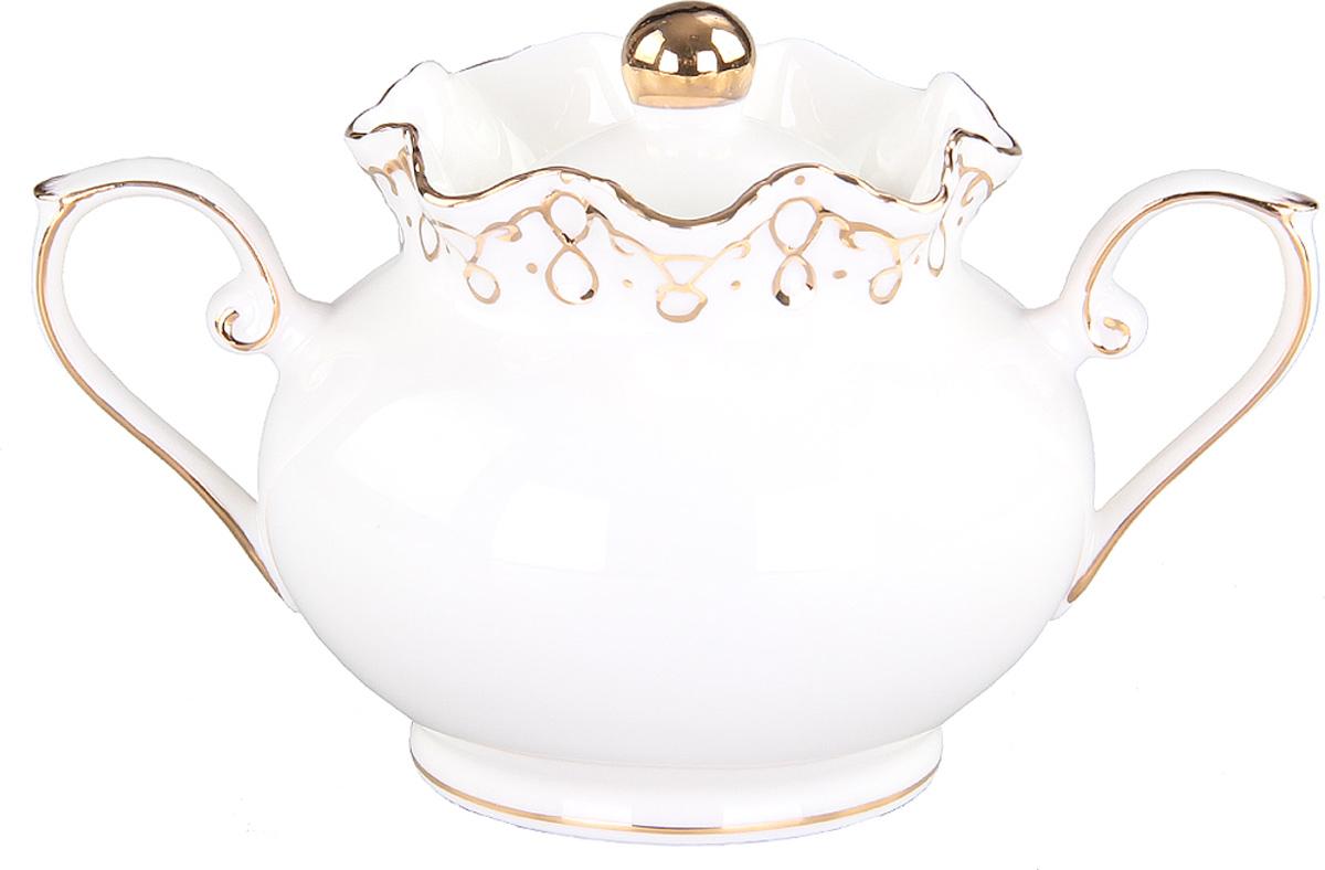 Сахарница Patricia, 280 мл. IM12109-1IM12109-1Сахарница выполнена из фарфора высшего качества. Эта сахарница станет прекрасным дополнением любого чаепития.