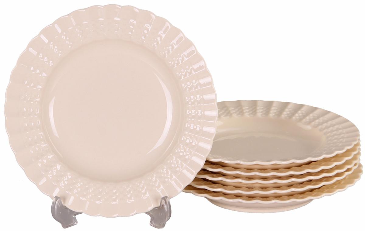 Тарелка глубокая Patricia, диаметр 19 см, 6 шт. IM52-4111IM52-4111Набор состоит из шести глубоких тарелок диаметром 19 см. Все изделия выполнены из фарфора высокого качества.