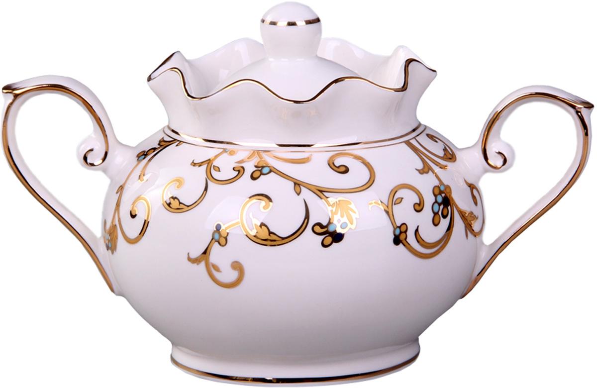 Сахарница Patricia, 280 мл. IM52-4202IM52-4202Сахарница выполнена из фарфора высшего качества. Изделие украшено позолотой. Эта сахарница станет прекрасным дополнением любого чаепития.