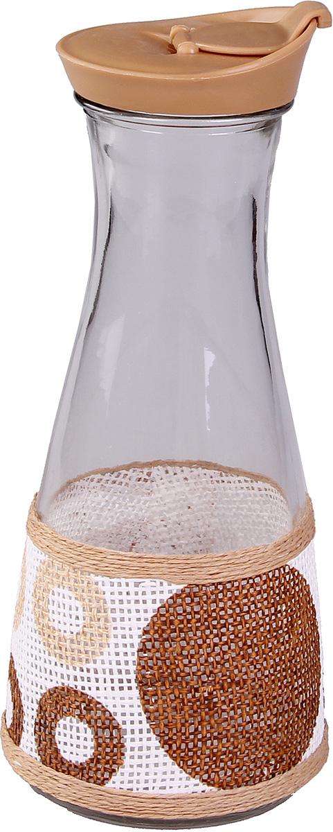 Бутылка для масла Patricia. IM99-3909IM99-3909Многие хозяйки регулярно сталкиваются с проблемой неэстетичности хранения оливкового или подсолнечного масла. Решить эту проблему помогут специальные бутылки для масла. Изделие выполнено из стекла и плети.