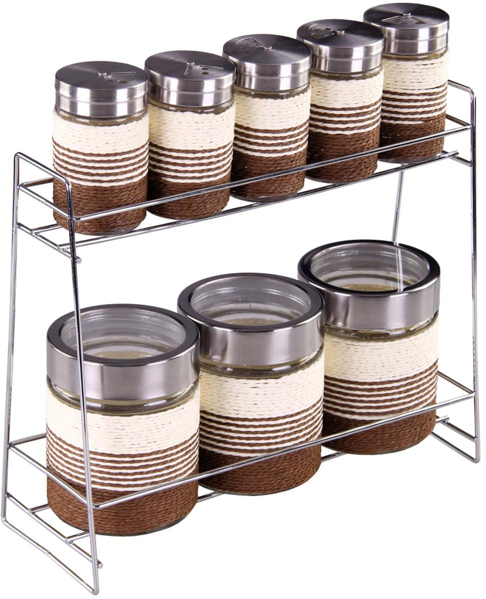 Набор банок Patricia, 3 предмета. IM99-3913IM99-3913Набор для сыпучих продуктов включает в себя 3 банки различных размеров. Плотно закручивающая крышка на банке позволит хранить чай,кофе и многие другие сыпучие продукты. А дизайн таких банок украсит кухню любой хозяйки.