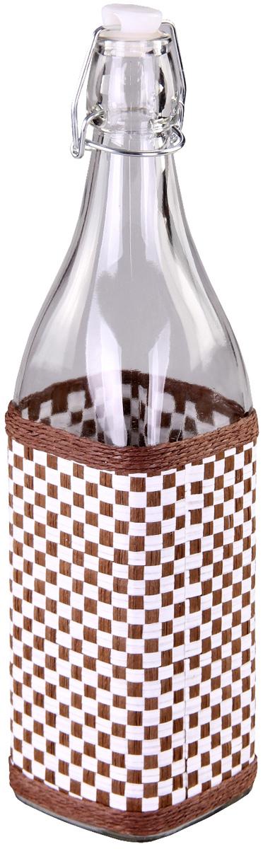Бутылка для масла Patricia. IM99-3923IM99-3923Многие хозяйки регулярно сталкиваются с проблемой неэстетичности хранения оливкового или подсолнечного масла. Решить эту проблему помогут специальные бутылки для масла. Изделие выполнено из стекла и плети.