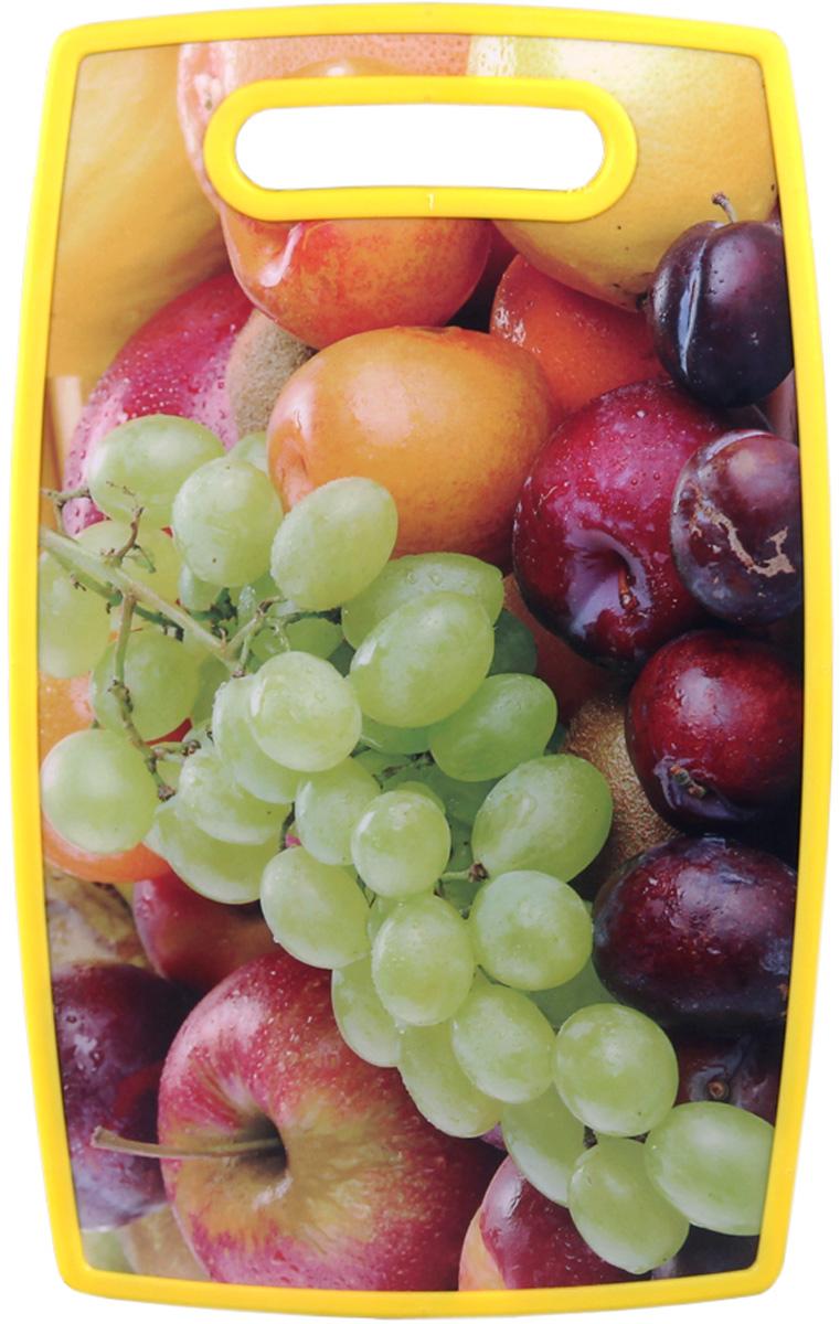 Доска разделочная Patricia, 37х23 , цвет: оранжевый. IM99-4713IM99-4713Разделочная доска в основном служит для нарезания продуктов питания,так же можно использовать как подставку под горячие сковороды.Разделочная доска является неотъемлемым атрибутом любой кухни.