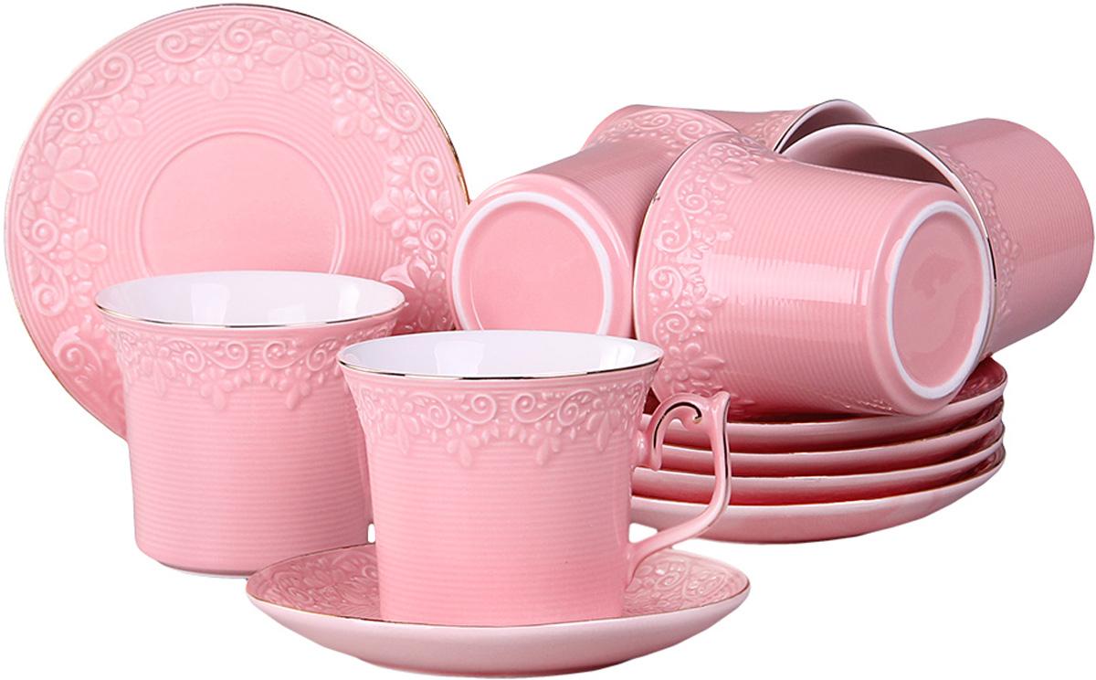 Набор чайный Patricia, 12 предметов, 200 мл. IM99-5217IM99-5217Чайный набор включает в себя 12 предметов: 6 чашек и 6 блюдец , все изделия выполнены из фарфора. Приятно посидеть небольшой дружной компанией в уютной гостиной за чашечкой ароматного чая. Для такой душевной компании не лишним будет приобрести соответствующую посуду.