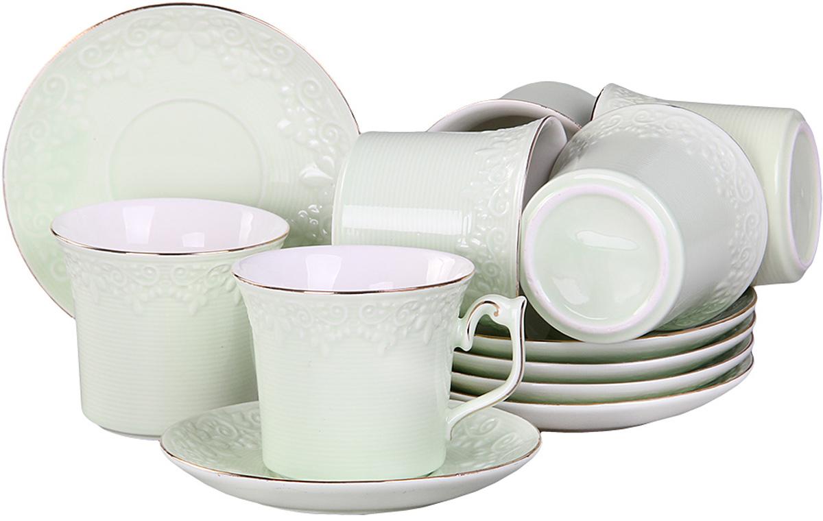 Набор чайный Patricia, 12 предметов, 200 мл. IM99-5218IM99-5218Чайный набор включает в себя 12 предметов: 6 чашек и 6 блюдец,все изделия выполнены из фарфора. Приятно посидеть небольшой дружной компанией в уютной гостиной за чашечкой ароматного чая. Для такой душевной компании не лишним будет приобрести соответствующую посуду.