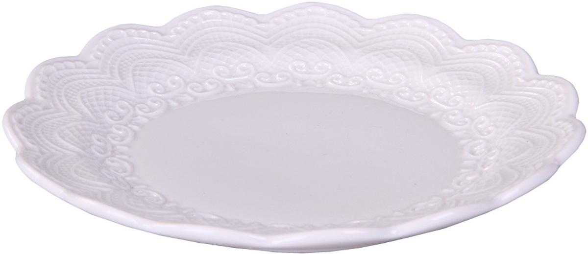Тарелка Patricia, диаметр 14,5 смIM99-5221Тарелка Patricia изготовлен из высококачественного фарфора и украшена рельефным узором. Оригинальный дизайн придется по вкусу и ценителям классики, и тем, кто предпочитает утонченность и изысканность. Тарелка Patricia идеально подойдет для сервировки стола и станет отличным подарком к любому празднику.
