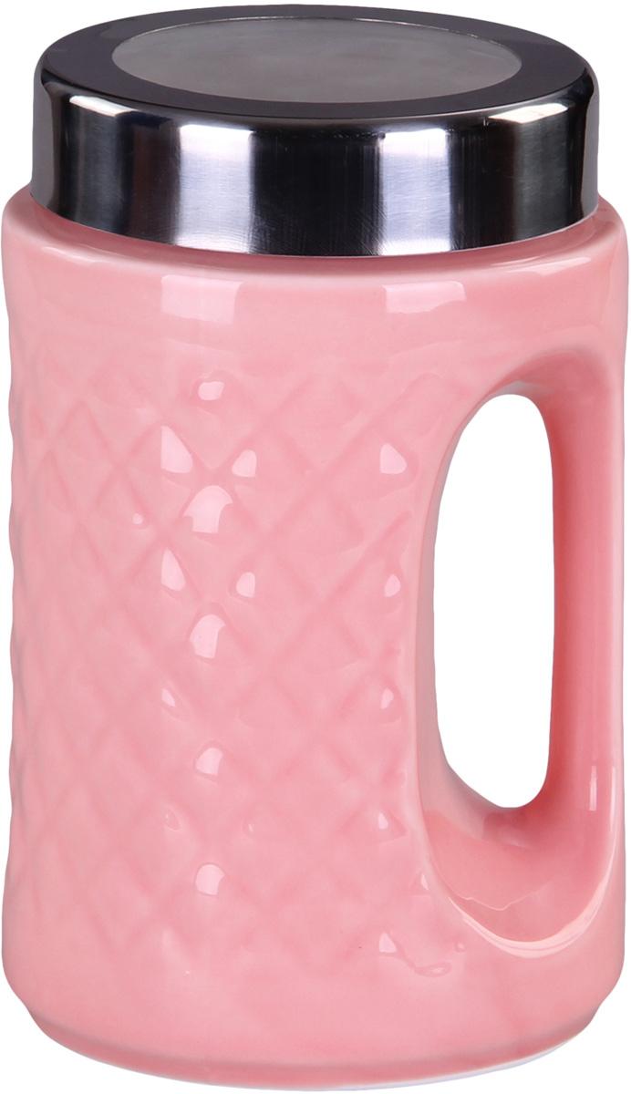 Банка для сыпучих продуктов Patricia. IM99-5236IM99-5236Банка с ручкой выполнена из керамики высокого качества. В ней можно хранить как соль или сахар, так и различные крупы.
