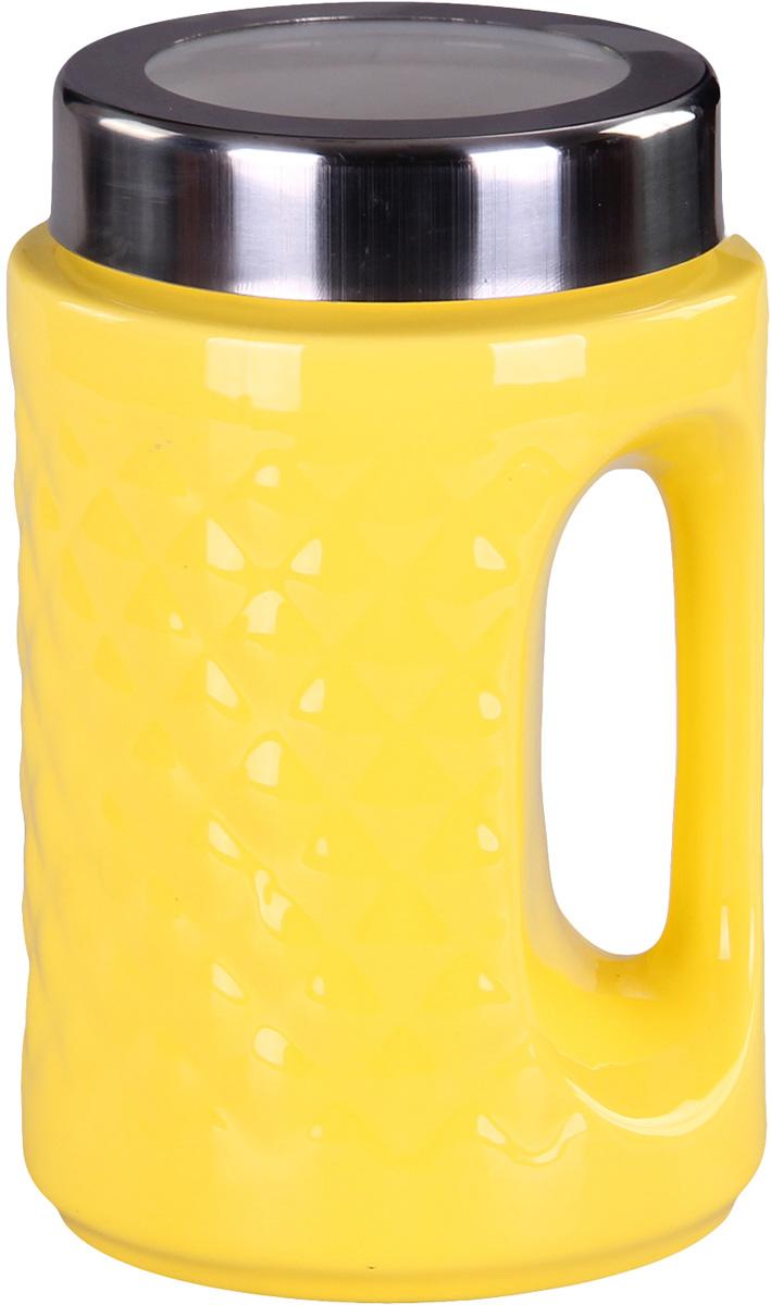 Банка для сыпучих продуктов Patricia. IM99-5239IM99-5239Банка с ручкой выполнена из керамики высокого качества. В ней можно хранить как соль или сахар, так и различные крупы.