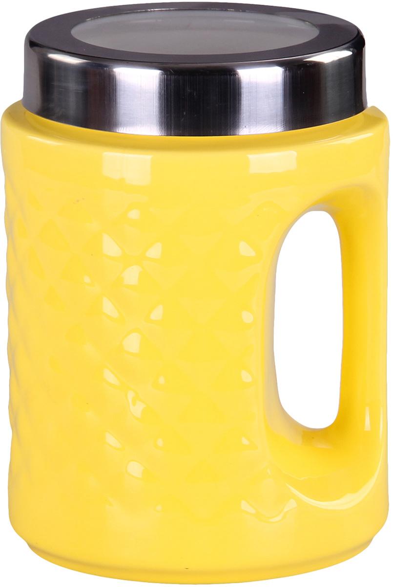 Банка для сыпучих продуктов Patricia. IM99-5244IM99-5244Банка с ручкой выполнена из керамики высокого качества. В ней можно хранить как соль или сахар, так и различные крупы.