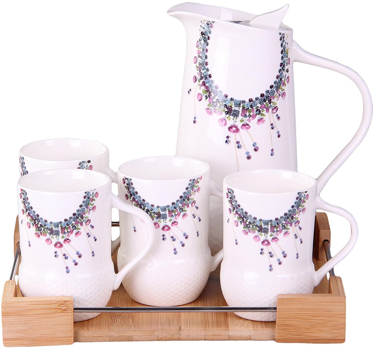 Чайный сервиз Patricia, 6 предметов. IM99-5256IM99-5256Этот набор идеален для сервировки завтрака. Все элементы набора изготовлены из керамики высокого качества.