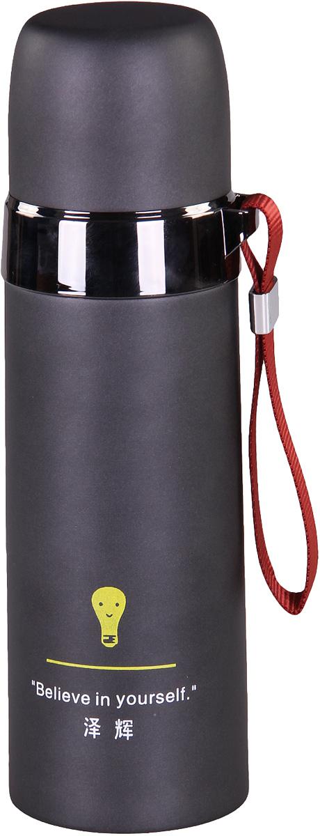 Термос Patricia, 500 мл, цвет: черный. IM99-5407IM99-5407Термос - это незаменимая вещь в каждом доме. Он выполнен из стали. Термос поможет Вам сохранить нужную температуру как еды так и напитков.