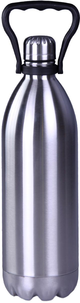 Термос Patricia, 1800 мл, цвет: серебро. IM99-5410IM99-5410Термос - это незаменимая вещь в каждом доме. Он выполнен из стали. Термос поможет Вам сохранить нужную температуру как еды так и напитков.