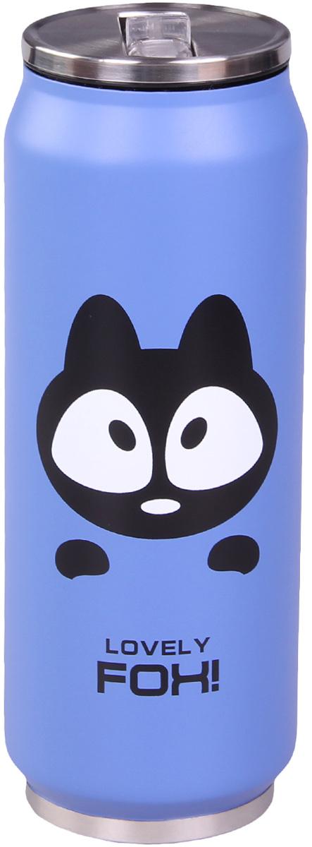 Термос Patricia, 500 мл, цвет: синий. IM99-5404IM99-5404/синТермос - это незаменимая вещь в каждом доме. Он выполнен из стали. Термос поможет Вам сохранить нужную температуру как еды так и напитков.