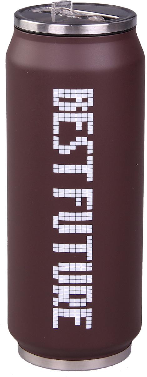 Термос Patricia, 500 мл, цвет: коричневый. IM99-5404IM99-5404/корТермос - это незаменимая вещь в каждом доме. Он выполнен из стали. Термос поможет Вам сохранить нужную температуру как еды так и напитков.