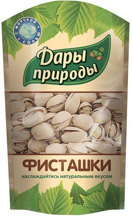 Дары Природы фисташки жареные соленые , 130 г