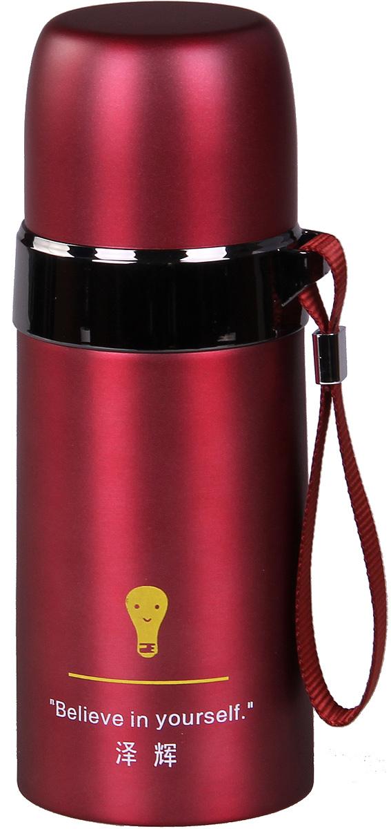 Термос Patricia, 350 мл, цвет: бордовый. IM99-5406IM99-5406/бордТермос - это незаменимая вещь в каждом доме. Он выполнен из стали. Термос поможет Вам сохранить нужную температуру как еды так и напитков.