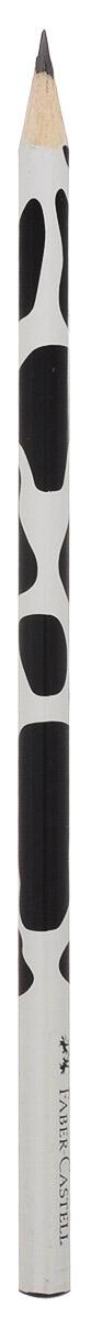 Faber-Castell Чернографитовый карандаш Triangular цвет корпуса белый черный 118366