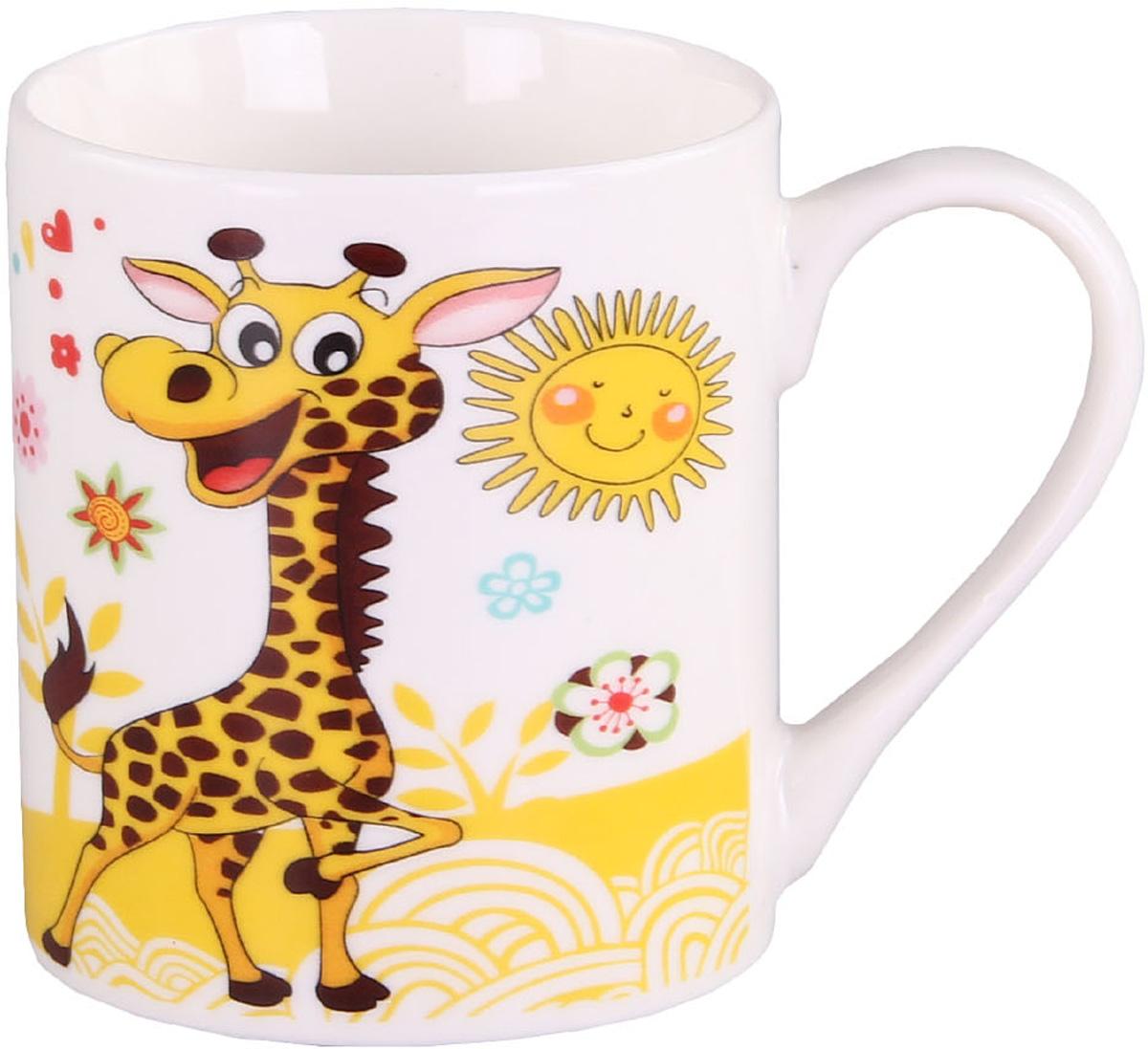 Кружка Patricia, 240 мл. IM57-0200/1IM57-0200/1Кружки изготовлены из фарфора. Изделие имеет яркий дизайн который ,несомненно, поднимет настроение, Вам и вашему ребенку, будничным утром.