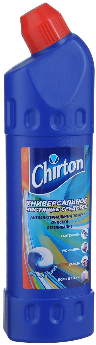 Средство чистящее Chirton Морской бриз, универсальное, 750 мл44432/4-0508Средство Chirton Морской бриз эффективно очищает и отбеливает раковины, ванны, душевые кабины, унитазы и водостоки, керамическую плитку, кухонные плиты, любые твердые моющиеся напольные покрытия, настенные панели, бытовую технику. Подходит для уборки и антимикробной обработки туалетов для животных. Средство устраняет серый налет, плесень, жир, мыльные подтеки, въевшиеся пятна от продуктов питания и другие загрязнения. Обладает антибактериальным эффектом. Придает очищенным поверхностям блеск и приятный свежий аромат. Товар сертифицирован.