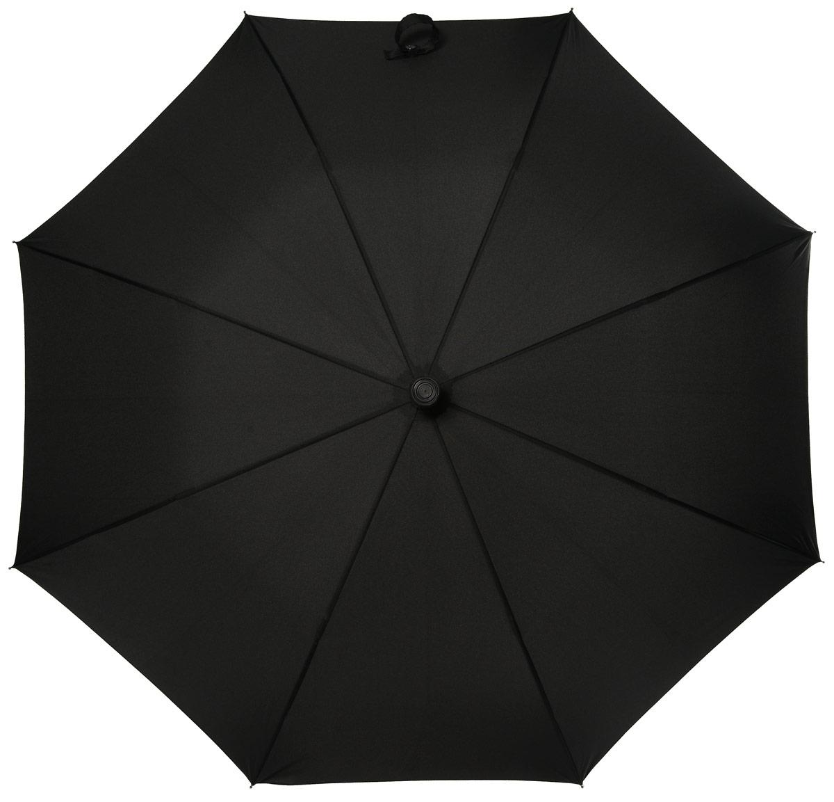 Зонт мужской трость Fulton, расцветка: черный. G827-01 BlackG827-01 BlackКрепкая трость с регулируемой длиной Особо прочный фиберглассовый каркас Резиновый нескользящий наконечник Купол из полиэстра высокого качества диаметр - 100 см Протестированный Британским Стандартом BS5205:1990