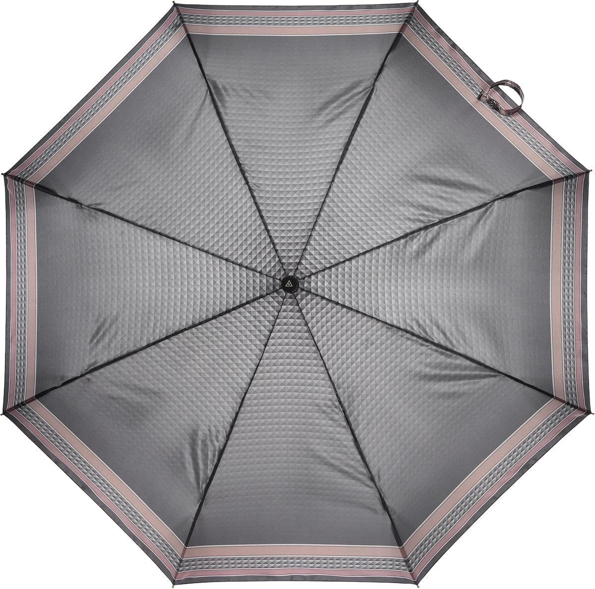 Зонт женский Fabretti, автомат, 3 сложения. L-16104-10L-16104-10Зонт женский Fabretti, облегченный суперавтомат, 3 сложения