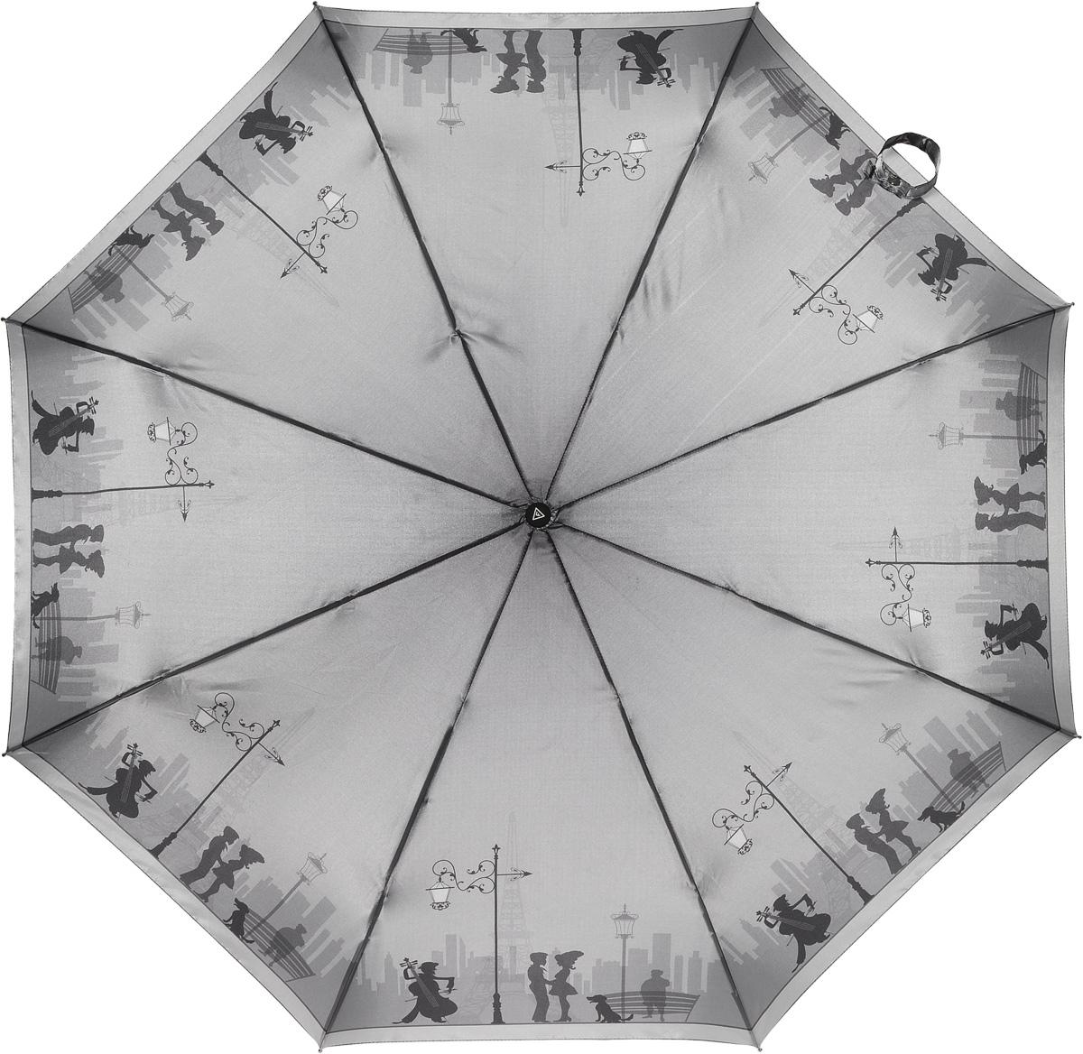 Зонт женский Fabretti, автомат, 3 сложения. L-16104-7L-16104-7Зонт женский Fabretti, облегченный суперавтомат, 3 сложения
