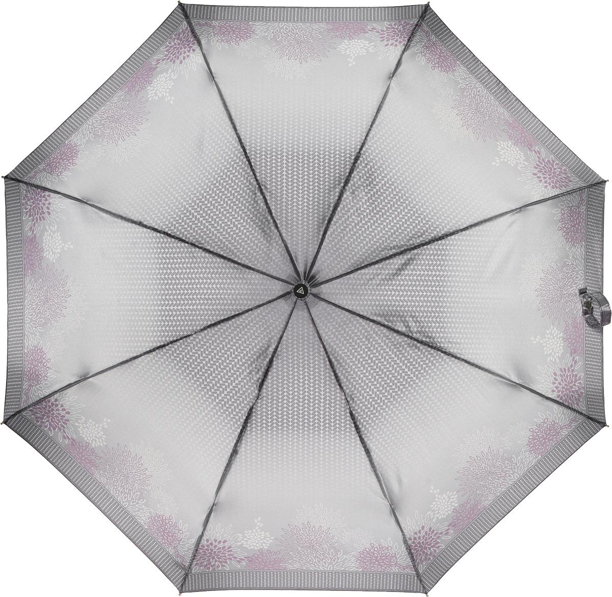 Зонт женский Fabretti, автомат, 3 сложения. L-16104-11L-16104-11Зонт женский Fabretti, облегченный суперавтомат, 3 сложения