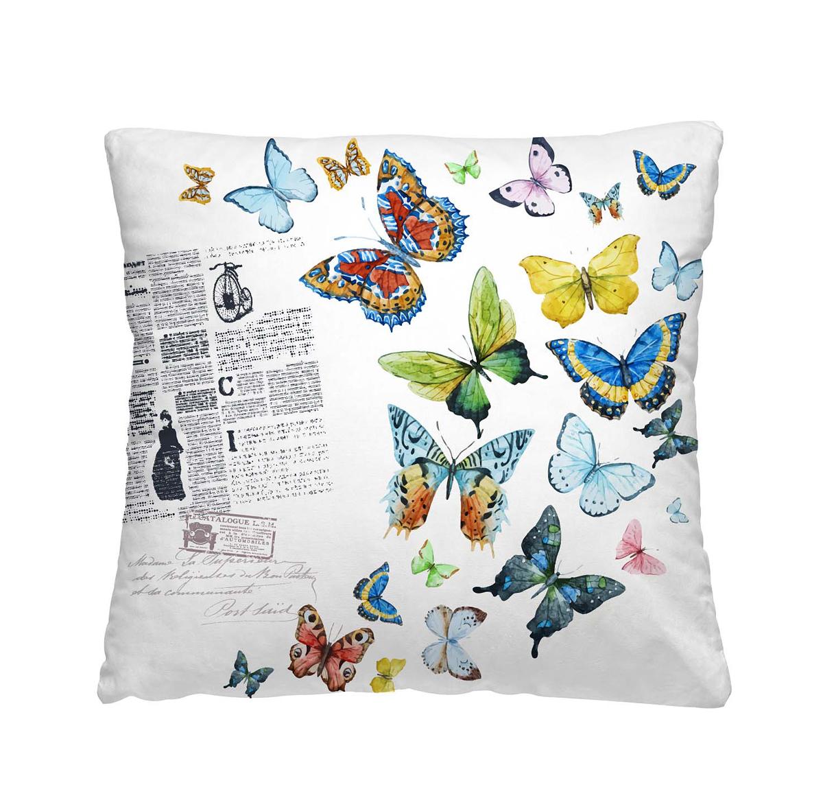 Подушка декоративная Волшебная ночь Бабочки, 40х40 см195644