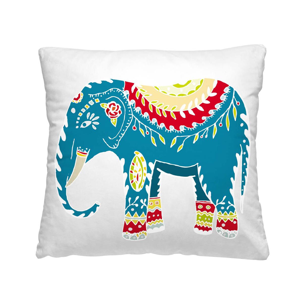 Подушка декоративная Волшебная ночь Индийский слон, 40х40 см195647