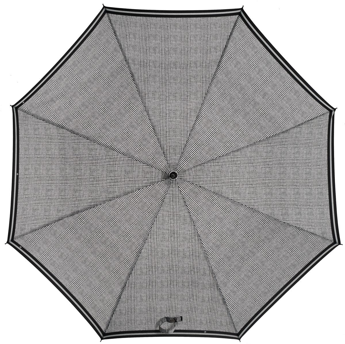 Зонт женский трость автомат Fulton, расцветка: гусиная лапка. L065-2244 PowStripeL065-2244 PowStripeСтильный зонт-трость, открывающийся нажатием кнопки. Большой купол. Спрочный, ветроустойчивый каркас из стали. Красивый фото-узор. Длина в сложенном виде 80 см, диаметр купола 94 см.