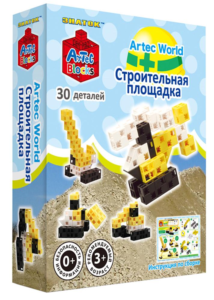 Знаток Конструктор Строительная площадка15-2343-ARTИз деталей конструктора Artec можно построить настоящую строительную площадку, где будут находиться эскаватор, автокран, вертолет и бульдозер! Этот уникальный набор позволит вашему малышу освоить азы моделирования и собрать множество удивительных фигур! Набор состоит из 30 разноцветных деталей в форме кубиков, дисков, треугольников. Собрав модели по инструкции, ребенок сможет проявить фантазию в сооружении бесчисленного множества собственных творений. Artec Blocks — это первый в мире конструктор, детали которого можно соединять в любом направлении: по горизонтали, вертикали и даже по диагонали, выстраивая таким образом фигуры любой формы и размера! Во время игры с конструктором Artec у ребенка будет развиваться как мелкая моторика рук, так и воображение – ведь ему самому захочется придумывать сюжеты для игры. Отмечено, что конструкторы Artec положительно влияют на развитие логического мышления, способствуют концентрации внимания и усидчивости детей. Детали изготовлены...