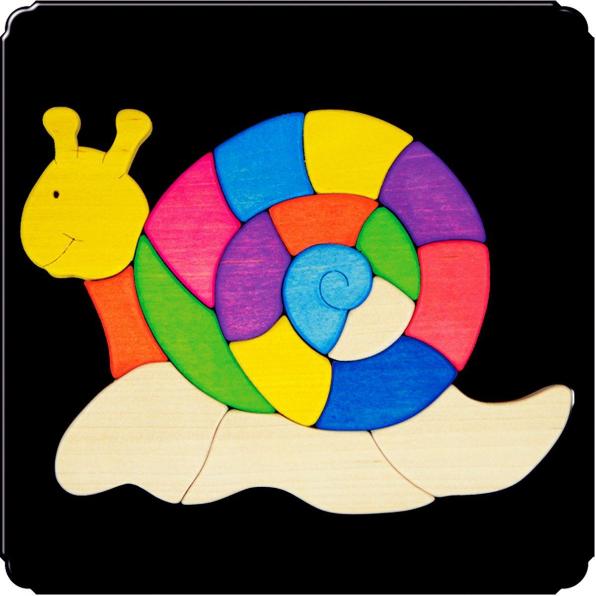 Деревяшкино Пазл для малышей Улитка112Красочная игрушка-головоломка из натурального дерева на магнитной доске. Незаменима в машине, поездке – в любом месте, где Вашему малышу удобно играть. Удивительный мир ярких красок и фантазий везде с Вами! Каждая деталька мозаики крепко держится на магнитной доске. Ваш юный фантазер сможет не только решить сложную задачу: собрать головоломку как на картинке, но и, используя фантазию, сможет создать уникальные и неповторимые композиции. Объединяйте несколько наборов – будет интереснее! Все детали выполнены из натурального дерева, окрашены безопасной пищевой краской. Деревянные игрушки дают возможность ощутить структуру, плотность, вес, запах материала. Ребенок получает правдивую информацию об окружающем мире. Развивает: мелкую моторику, абстрактное и логическое мышление, понимание цветов, геометрических форм. Методические рекомендации: объясните малышу почему детальки держатся на доске. Объясните как правильно собрать мозаику, но не помогайте в трудных местах. Попросите ребенка...