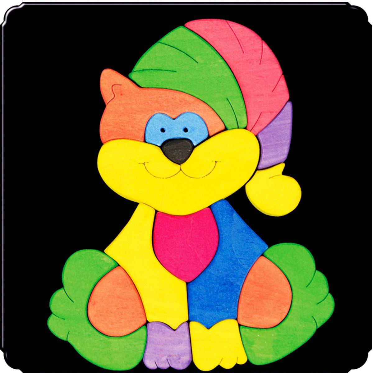 Деревяшкино Пазл для малышей Котик114Красочная игрушка-головоломка из натурального дерева на магнитной доске. Незаменима в машине, поездке – в любом месте, где Вашему малышу удобно играть. Удивительный мир ярких красок и фантазий везде с Вами! Каждая деталька мозаики крепко держится на магнитной доске. Ваш юный фантазер сможет не только решить сложную задачу: собрать головоломку как на картинке, но и, используя фантазию, сможет создать уникальные и неповторимые композиции. Объединяйте несколько наборов – будет интереснее! Все детали выполнены из натурального дерева, окрашены безопасной пищевой краской. Деревянные игрушки дают возможность ощутить структуру, плотность, вес, запах материала. Ребенок получает правдивую информацию об окружающем мире. Развивает: мелкую моторику, абстрактное и логическое мышление, понимание цветов, геометрических форм. Методические рекомендации: объясните малышу почему детальки держатся на доске. Объясните как правильно собрать мозаику, но не помогайте в трудных местах. Попросите ребенка...