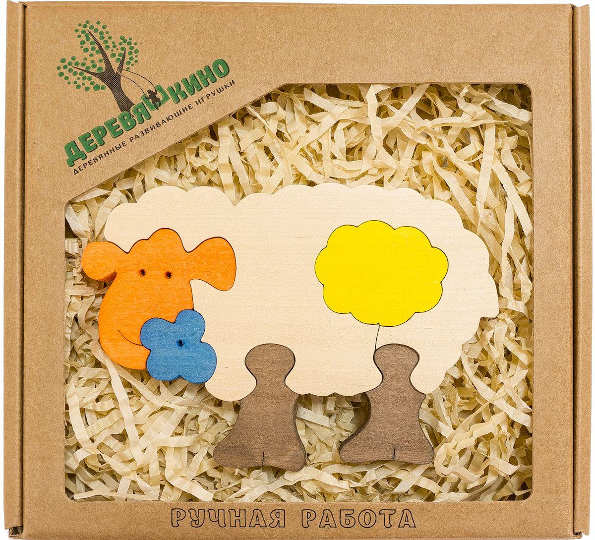 Деревяшкино Пазл для малышей Овечка599Развивающая деревянная головоломка Овечка (средней степени сложности) подходит для мальчиков и девочек в возрасте 3-5лет, состоит из 6 деталей. Экологически чистый продукт: изготовлено вручную из массива березы. Игрушка раскрашена пищевой водостойкой краской, что делает взаимодействие с изделием абсолютно безопасным: никаких лаков, «химии» или добавок. Процесс сборки деревянной головоломки развивает: тактильную сенсорику, внимательность, усидчивость, пространственное мышление, мелкую моторику, а так же учит различать элементы по цвету, форме и размеру. С продукцией компании Деревяшкино, Ваши детки развиваются, играя без риска для здоровья.