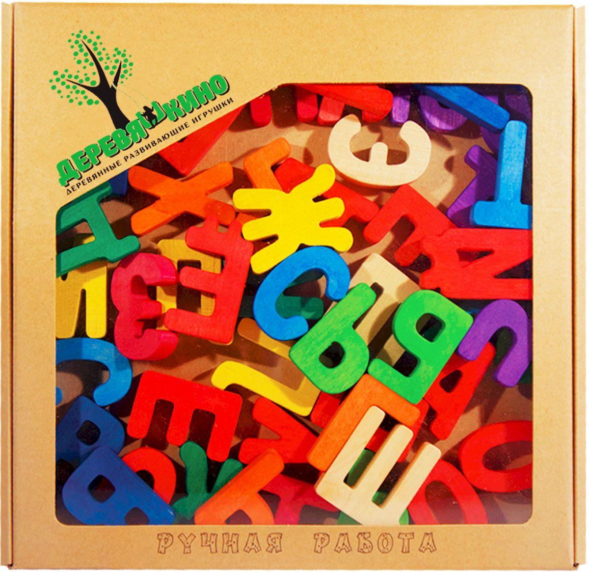 Деревяшкино Обучающая игра Буквы цветные79Развивающая тематическая игрушка (средней степени сложности) подходит для мальчиков и девочек в возрасте от 3 лет. В комплекте 52 буквы, высота одной буквы 6 см. Поможет в обучении малыша чтению и речи. Игра с цветными буквами поможет малышу изучить цвета. Развивает память, мелкую моторику детских ручек, усидчивость и терпение. Теперь обучение буквам и чтению станет намного проще и интереснее, ведь все это происходит в игровой форме. Экологически чистый продукт: изготовлено вручную из массива березы. Игрушка раскрашена пищевой водостойкой краской, что делает взаимодействие с изделием абсолютно безопасным: никаких лаков, «химии» или добавок.
