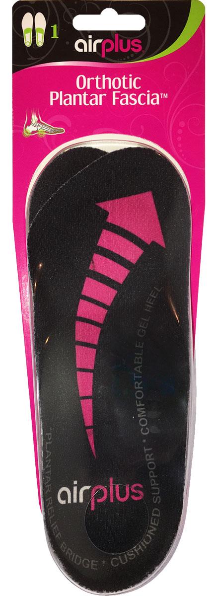 Airplus Стелька женская ортопедическая 3/4 гель750193/4 Ортопедическая стелька женская: фиксация пятки, фиксация свода стопы, гель для поглощения ударной нагрузки при ходьбе. Армированный гель - сверх легкий, тонкий, упругий, поддерживает свод стопы, поглощает ударную нагрузку. Длина стельки: 20.5 см (для размера ноги 38 и меньше). Толщина стельки: 1.5 см пятка, 0.2 см мысок. Подходит для всех типов обуви, для обуви на каблуке до 10 см. Нельзя обрезать стельку под размер обуви.