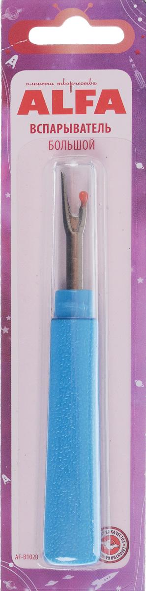 Вспарыватель Alfa, цвет: голубой, длина 12 смAF-B102D_голубойВспарыватель Alfa изготовлен из высококачественного пластика и металла. Приспособление идеально подходит для распарывания швов, пуговичных петель и многого другого. Его по достоинству оценят как профессиональные портные, так и начинающие швеи. В комплекте прозрачная крышка, обеспечивающая безопасность при хранении. Длина вспарывателя: 3,4 см. Общая длина: 12 см.